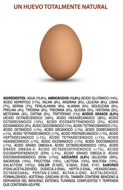 natural huevo