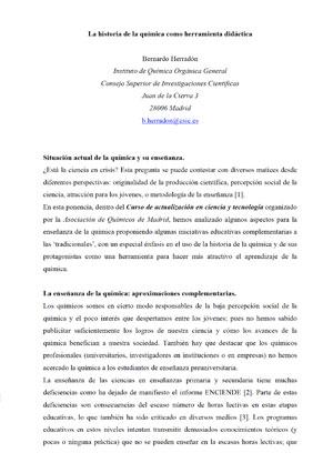 Material Didáctico Para Educadores Foro Química Y Sociedad